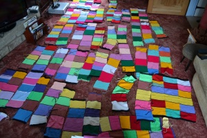 An acre of knitted hugs