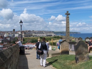 Top of Whitby Stairs