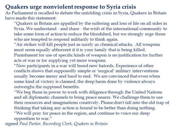 http://www.quaker.org.uk/news/quakers-urge-nonviolent-response-syria-crisis