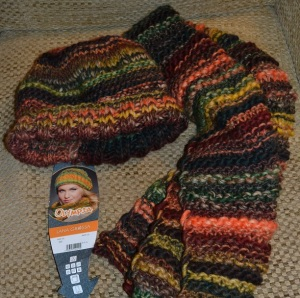 hat and scarf - Danish wool