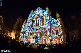 york minster lights