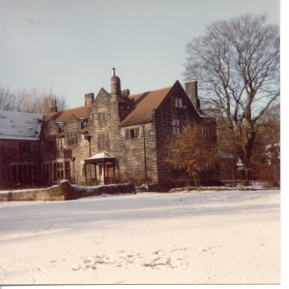 Hall in snow