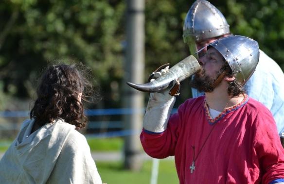 quaffing viking