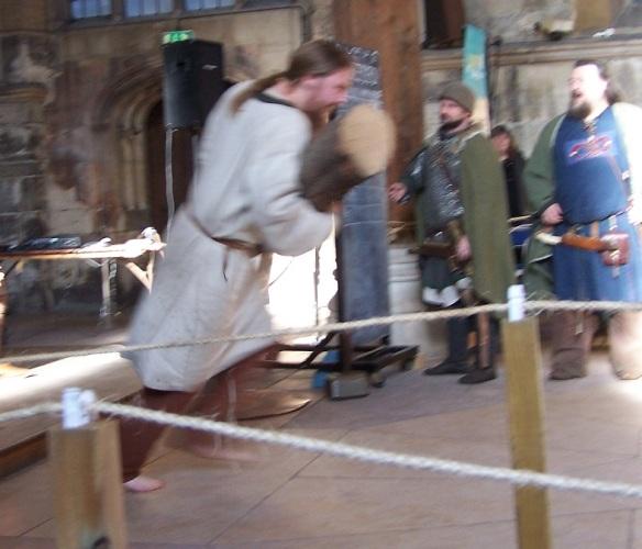 Viking log carrying