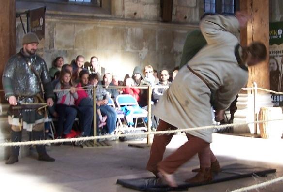 Viking shield wrestling