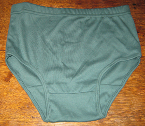 A P Green Knickers front 300